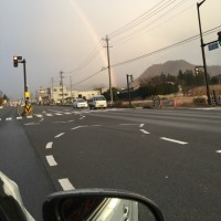 11/29(火)  虹。