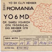 CQ  YO !(ルーマニア各局!)