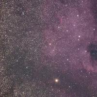 白鳥座の散光星雲