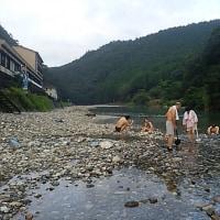ブログ160914 高野山~熊野古道の旅  川湯温泉 川から湧き出る温泉!