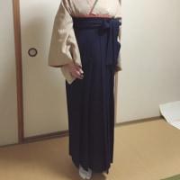 袴で卒業式・大人編(出張着付け)