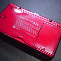 DSLiteの赤い怪しい外装