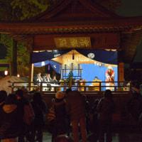 野木神社 提灯もみ祭り、太々神楽 2016年(栃木県 野木)