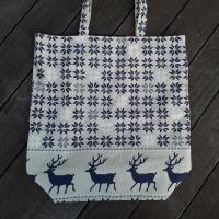 ここねさんの新作!冬のトナカイ柄のバッグとフリース雑巾とアロマ雑貨♪