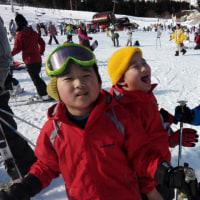 雪質良好 一里野スキー場