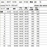 東京喜多マラソンのイメトレ