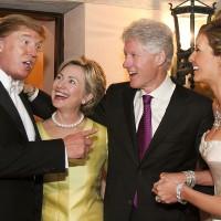 クリントンとトランプはお友達