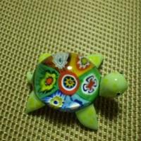 ベネチアガラスの亀