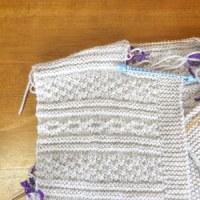久々の編み物