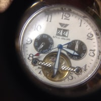 アルマーニの機械式腕時計の修理