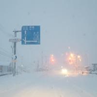 大雪・山形県長井市