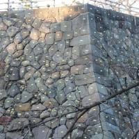 弘前城石垣修理工事 2016/11/18 ナンバリング