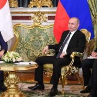 5月にも北方領土に調査団派遣…日露首脳合意