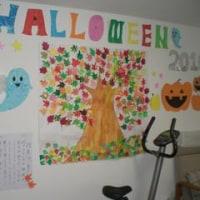 10月の壁面