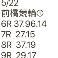 5/22 前橋競輪①