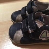 息子の新しい靴