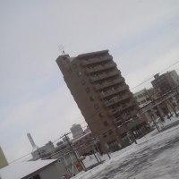 2017/2/26 午前9時前札幌の空模様    今夜は新月(23:58)
