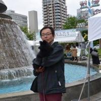 二条小学校運動会・大通西あたり(札幌市中央区)