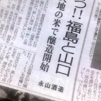 炎上商法ではありません。山口×福島のコラボ日本酒「精一杯(永山酒造)」@銀座ミツバチプロジェクト