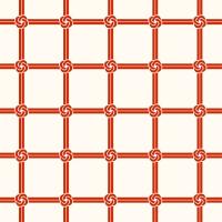 「パターン」結び文(テキスタイル)