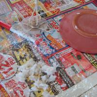 ご飯粒の使い方