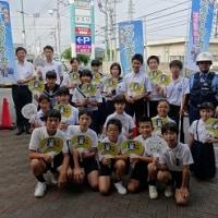 長中生徒会 マナーアップリーダーズとして大活躍!