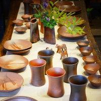 明後日の6月23日から恒枝陶芸で備前焼作家・恒枝直豆さんの個展が開催されますよ。