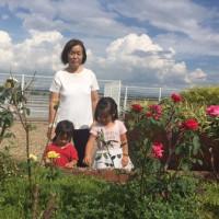 空と花と子どもたち