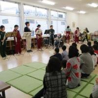 *栃尾高校吹奏楽部さんに来ていただきました*