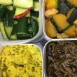 夏野菜で常備菜づくり・・ ご飯がすすみます(⋈◍>◡<◍)。✧♡