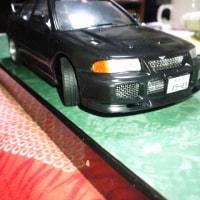 アオシマ模型 頭文字Dシリーズ ランエボ京一モデル