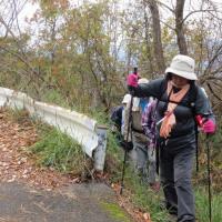 ⑱ 見越山~柚木城山~大茶臼山~宗箇山縦走登山 : 西区やまなみハイキングルート  UP4日目