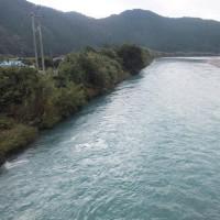 本日の海部川
