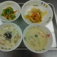 和食献立はお腹に優しい感じですが揚げ物もあるのでどんと腹持ちがいい献立になっています。