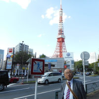 池さんぽ「東京タワー」
