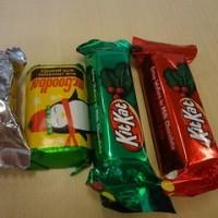 アメリカンなクリスマスキャンディ