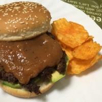 佐賀牛ハンバーガー はつおとめ入りソース