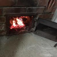 冬の楽しみ・・・薪で沸かすお風呂