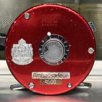 #Ambassadeur4500 調整作業後 ブロンズブッシュモデル