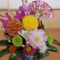 年末を花で彩るささやかな幸せ