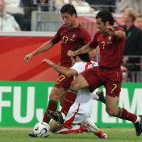 W杯:ポルトガル対イラン@フランクフルト(TV観戦)