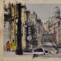 「 パリの街角 5 」
