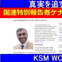 【KSM】国連特別報告者 ジョセフ・ケナタッチの正体を暴露する! 05/25/2017