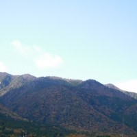 比良山系荒川峠へ