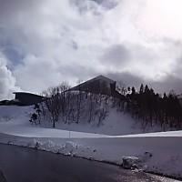 春スキー「夏油高原」