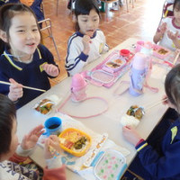 おれんじ 5歳児 大和田幼稚園との交流会