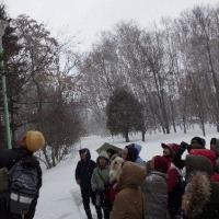2月14日(火)さっぽろ自然散歩~豊平公園~の様子