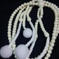 1・私の白い・お数珠のおもいで
