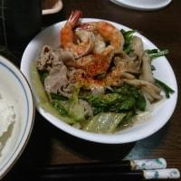 「昨日の晩御飯」!!「寄せ鍋」!!