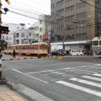 ダイヤモンド クロス (愛媛県松山市の郊外電車と市内電車)